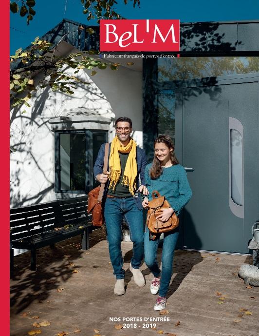 Remplacement de votre porte d'entrée par une porte an ALU, Acier ou Mixte BOIS/ALU. Accédez au catalogue Bel'm en ligne.