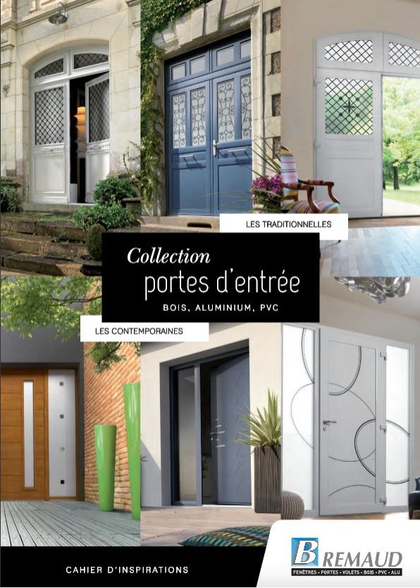 Pose de porte d'entrée Bois, Alu et PVC à proximité de Sillé le Guillaume, Fresnay-sur-Sarthe, Alençon et Le Mans. Téléchargez le catalogue Bremaud